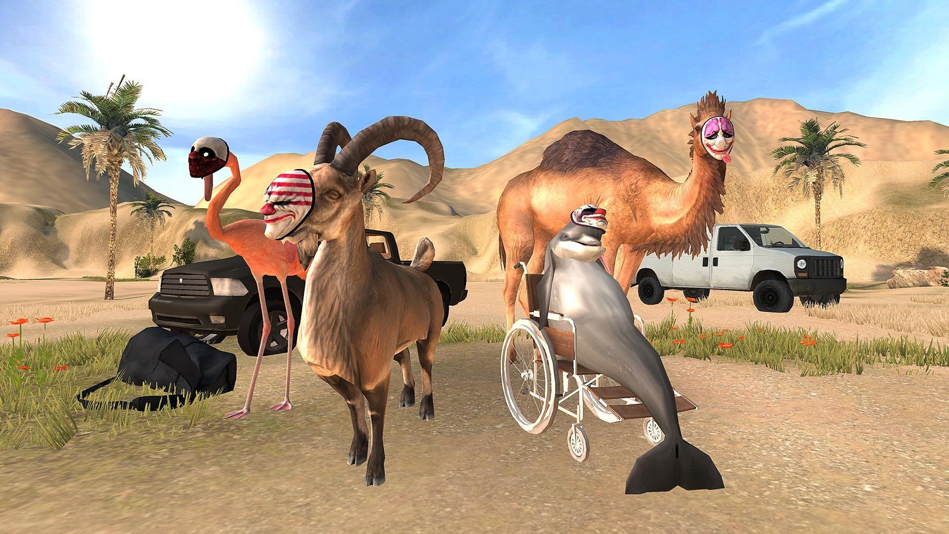 模拟山羊:收获日 游戏截图1