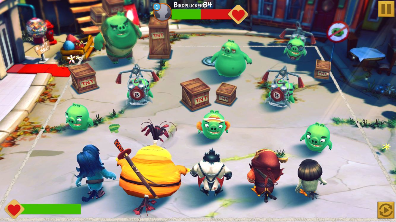 愤怒的小鸟:演化(Angry Birds Evolution) 游戏截图5