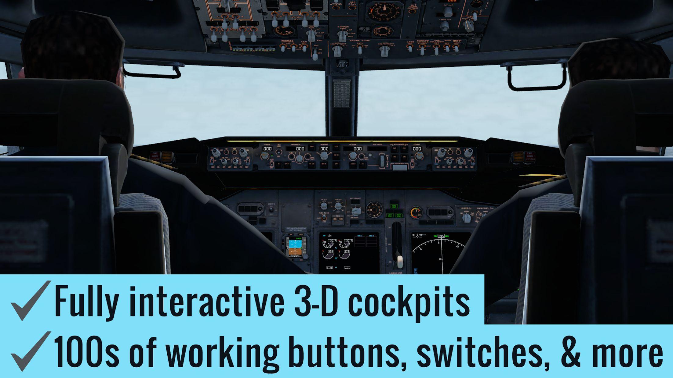 X-Plane 10 Flight Simulator 游戏截图2