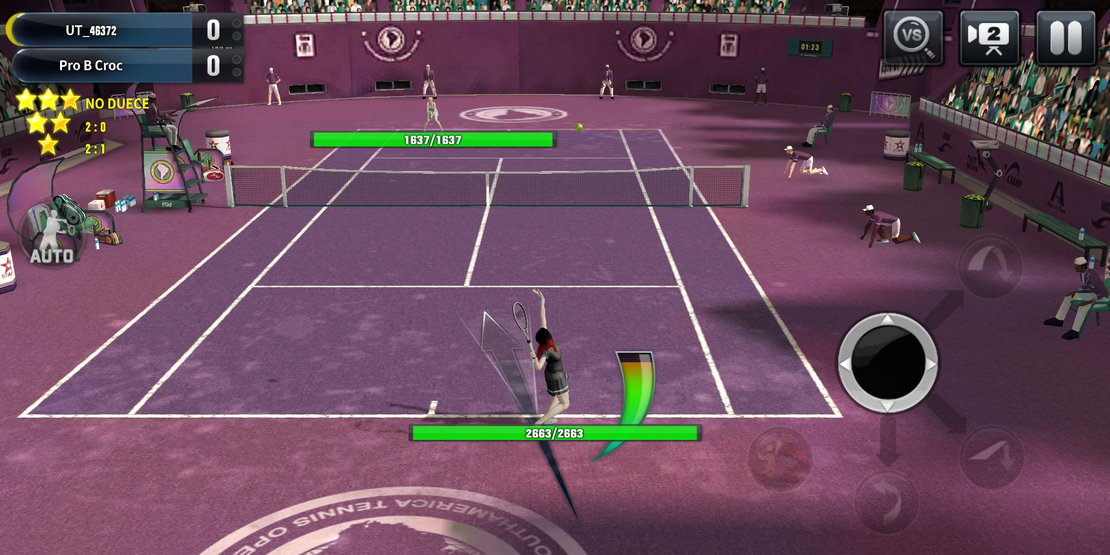 终极网球 游戏截图3