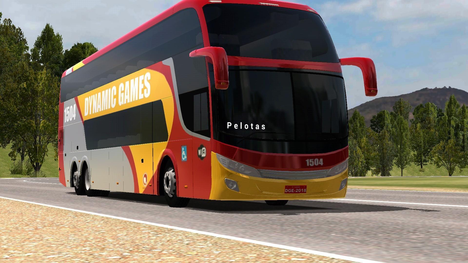 World Bus Driving Simulator 游戏截图1