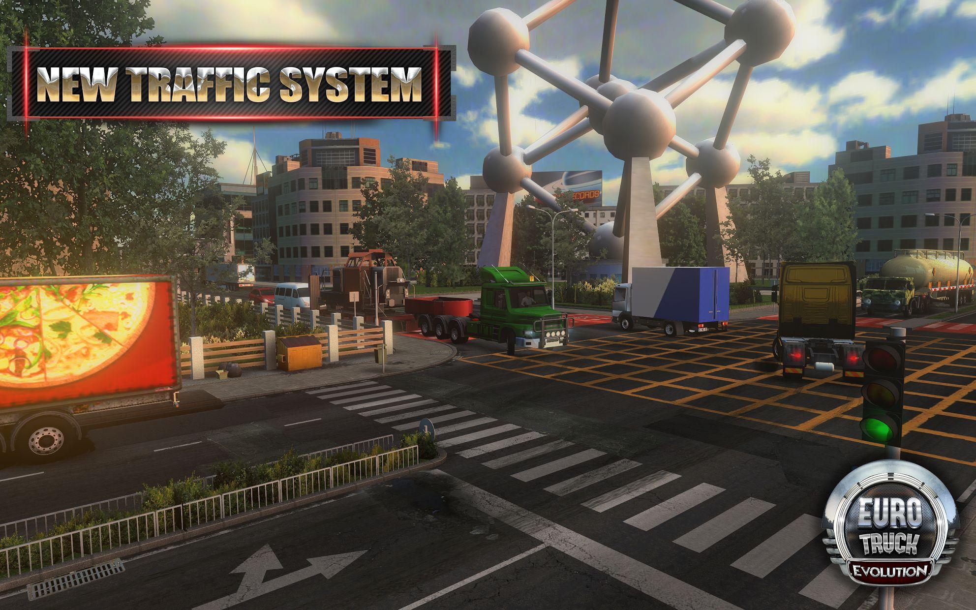 Euro Truck Evolution (Simulator) 游戏截图2