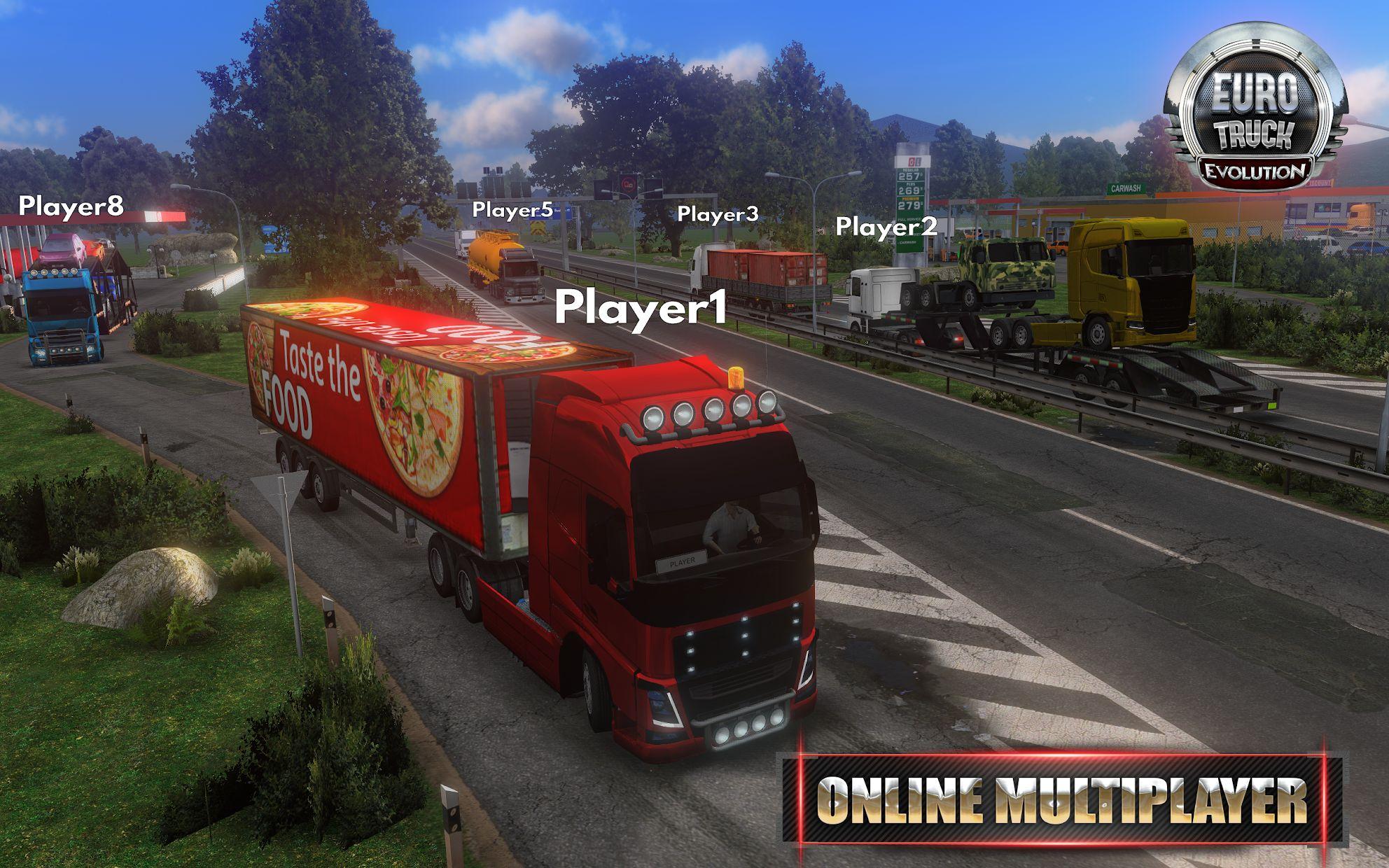 Euro Truck Evolution (Simulator) 游戏截图3