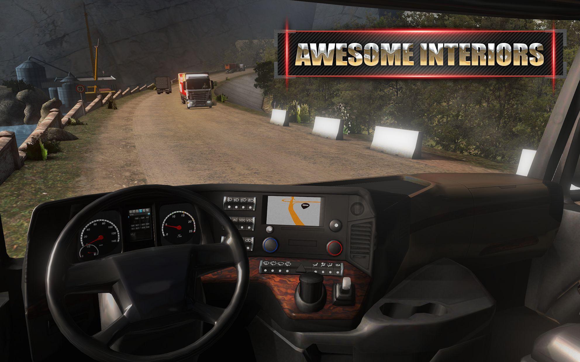 Euro Truck Evolution (Simulator) 游戏截图4