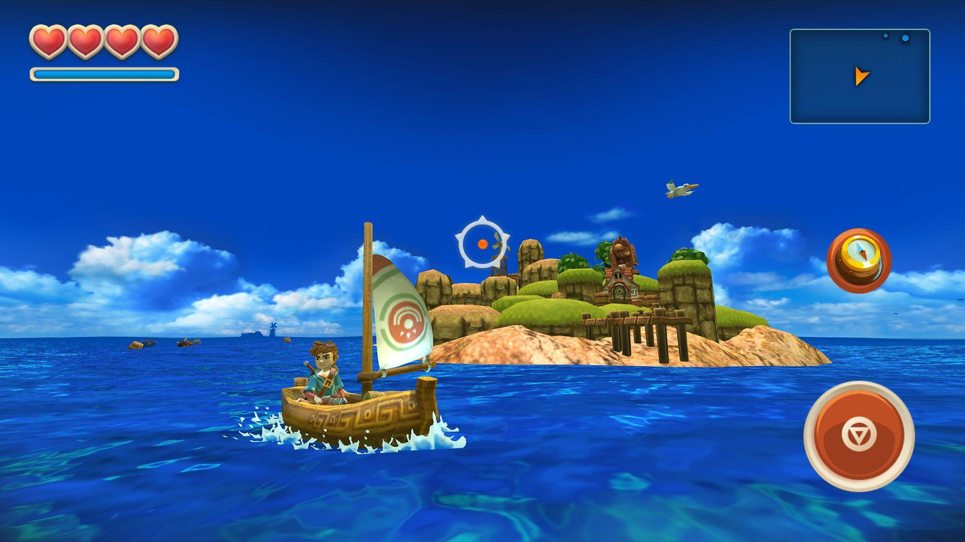 海之号角(Oceanhorn) 游戏截图2
