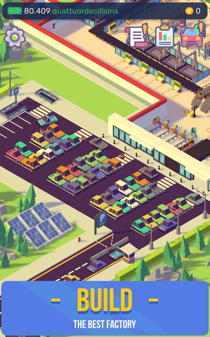 汽车工业大亨-放置汽车工厂模拟器 游戏截图3