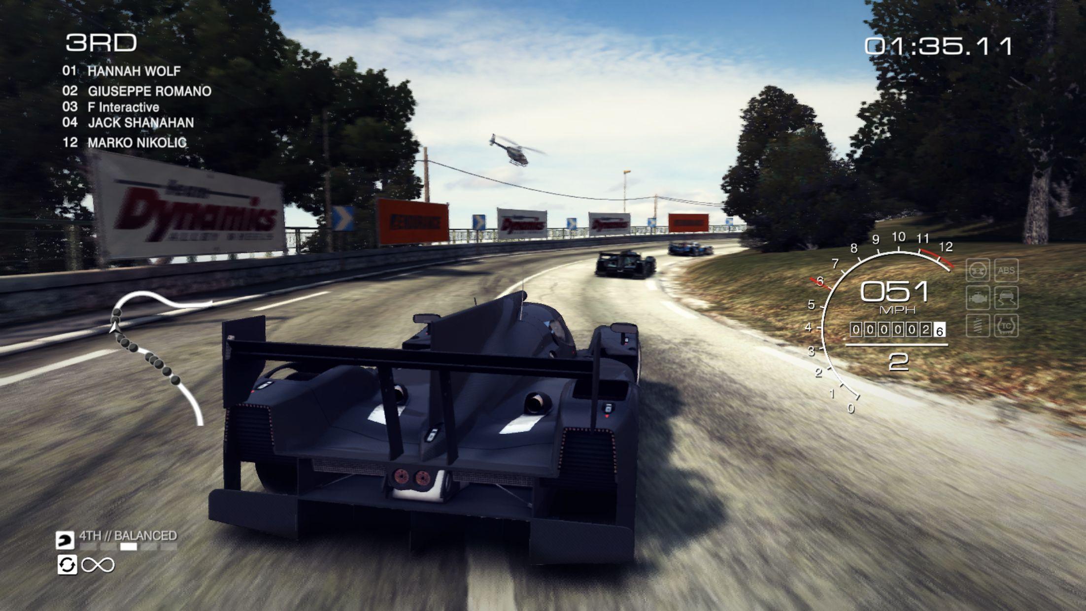 GRID™ Autosport - 线上多人测试 游戏截图2