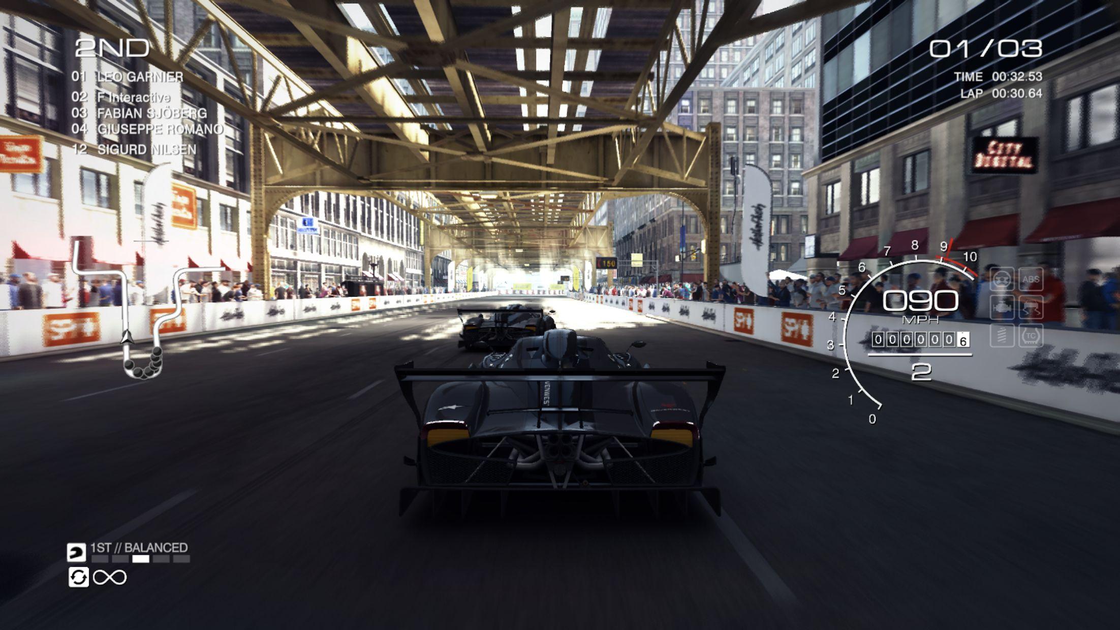 GRID™ Autosport - 线上多人测试 游戏截图3