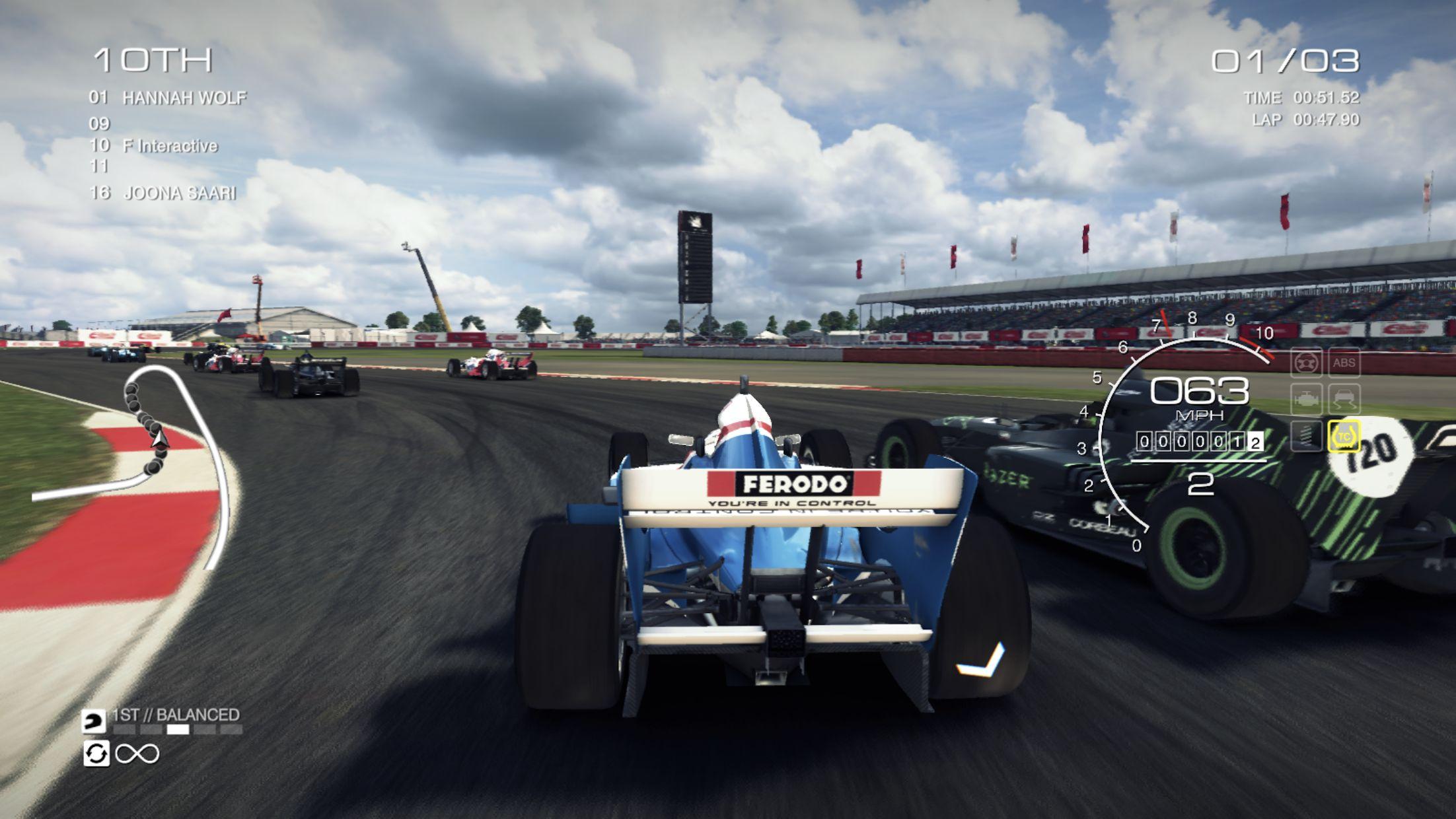 GRID™ Autosport - 线上多人测试 游戏截图5