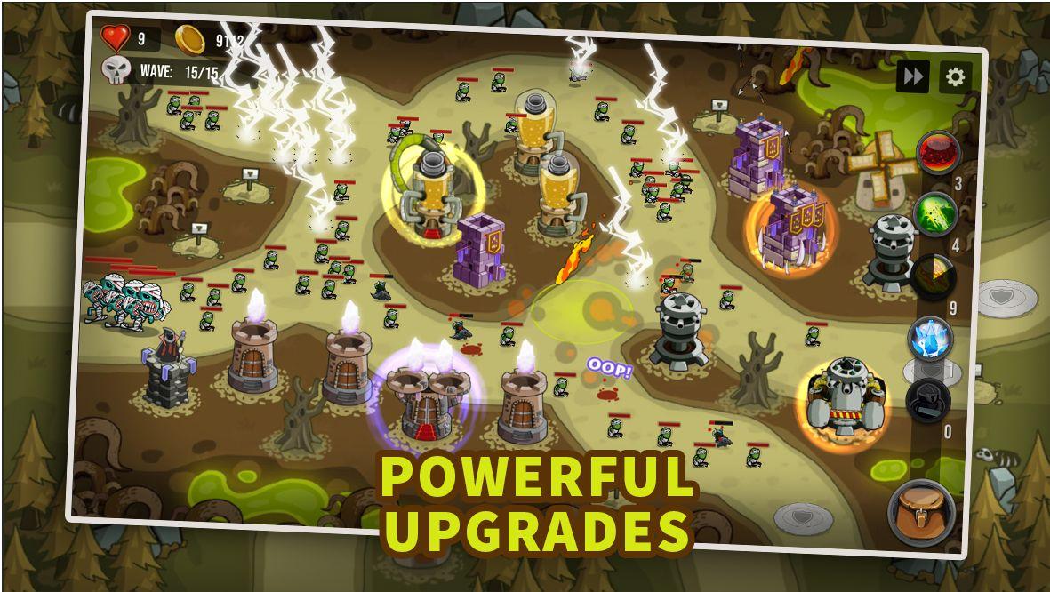 塔防:最后的境界 - 城堡TD 游戏截图1