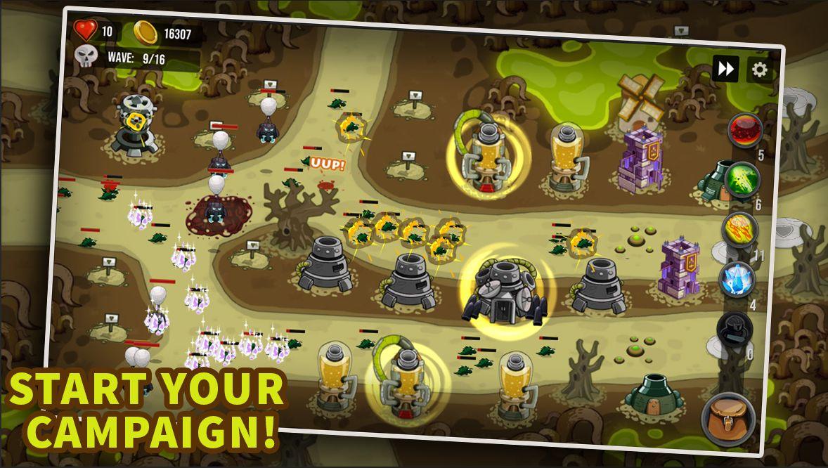 塔防:最后的境界 - 城堡TD 游戏截图2