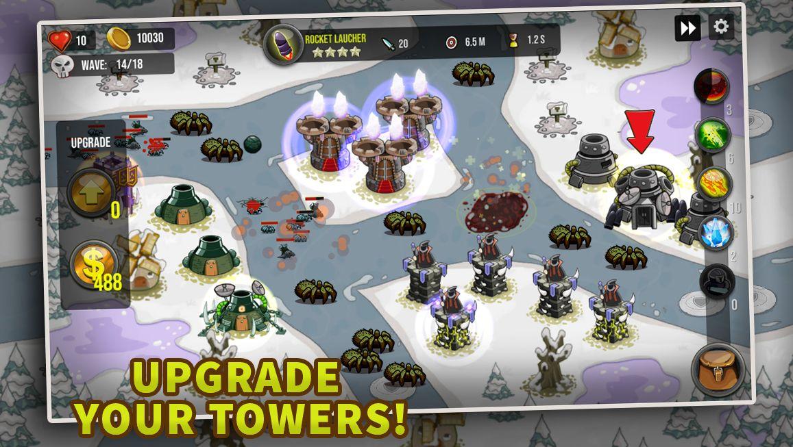 塔防:最后的境界 - 城堡TD 游戏截图4