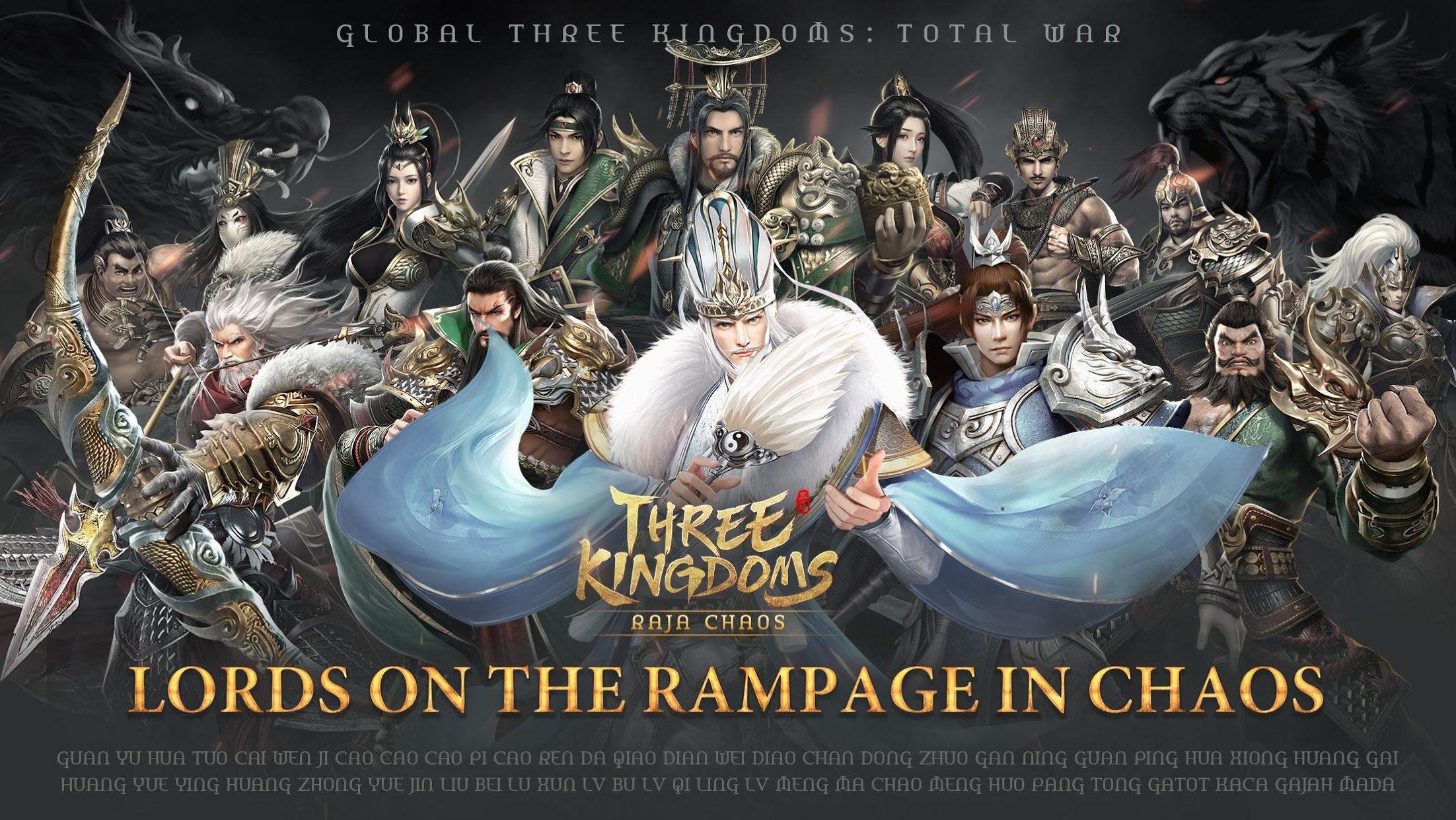 Three Kingdoms: Raja Chaos 游戏截图1
