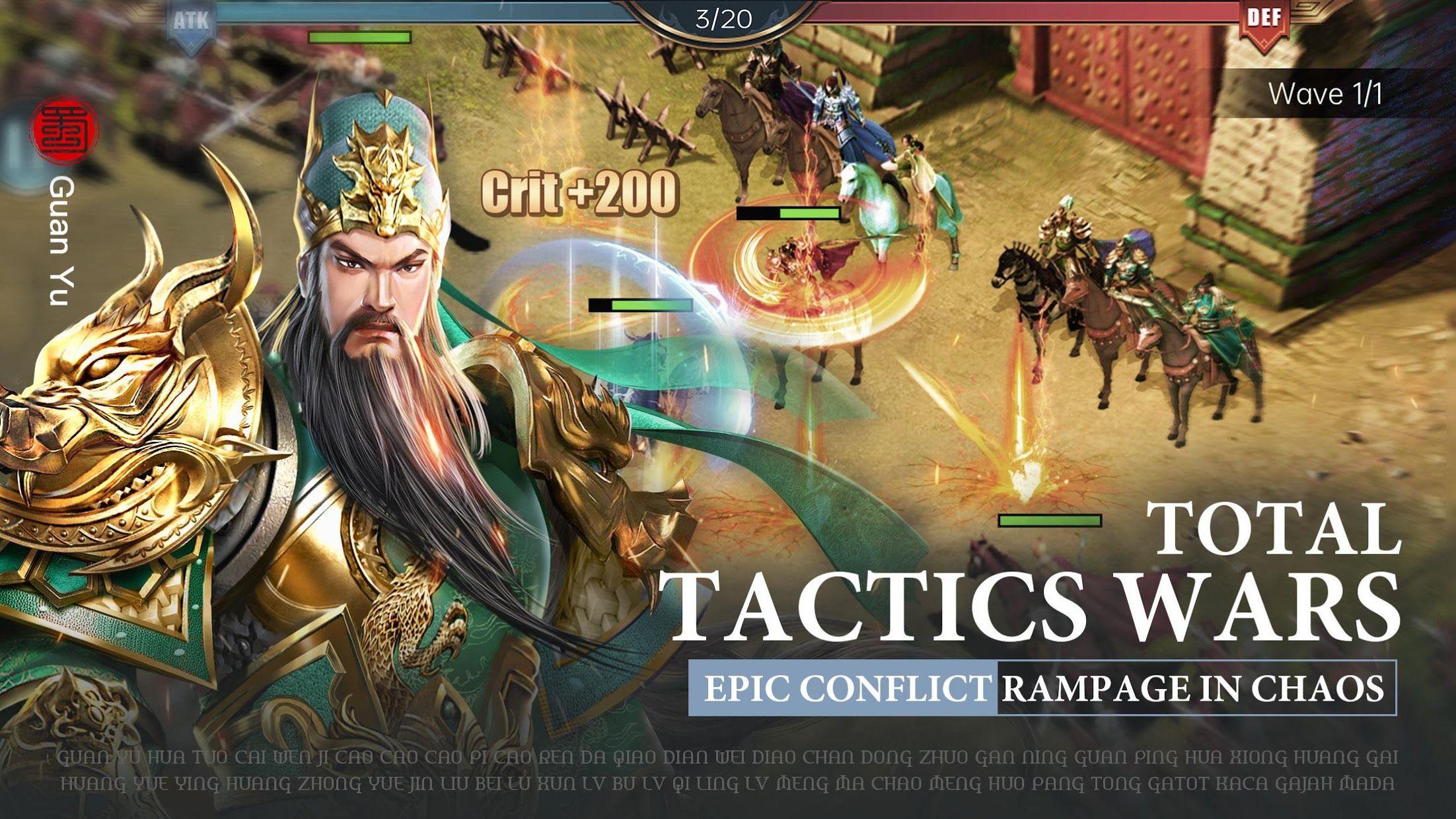 Three Kingdoms: Raja Chaos 游戏截图4