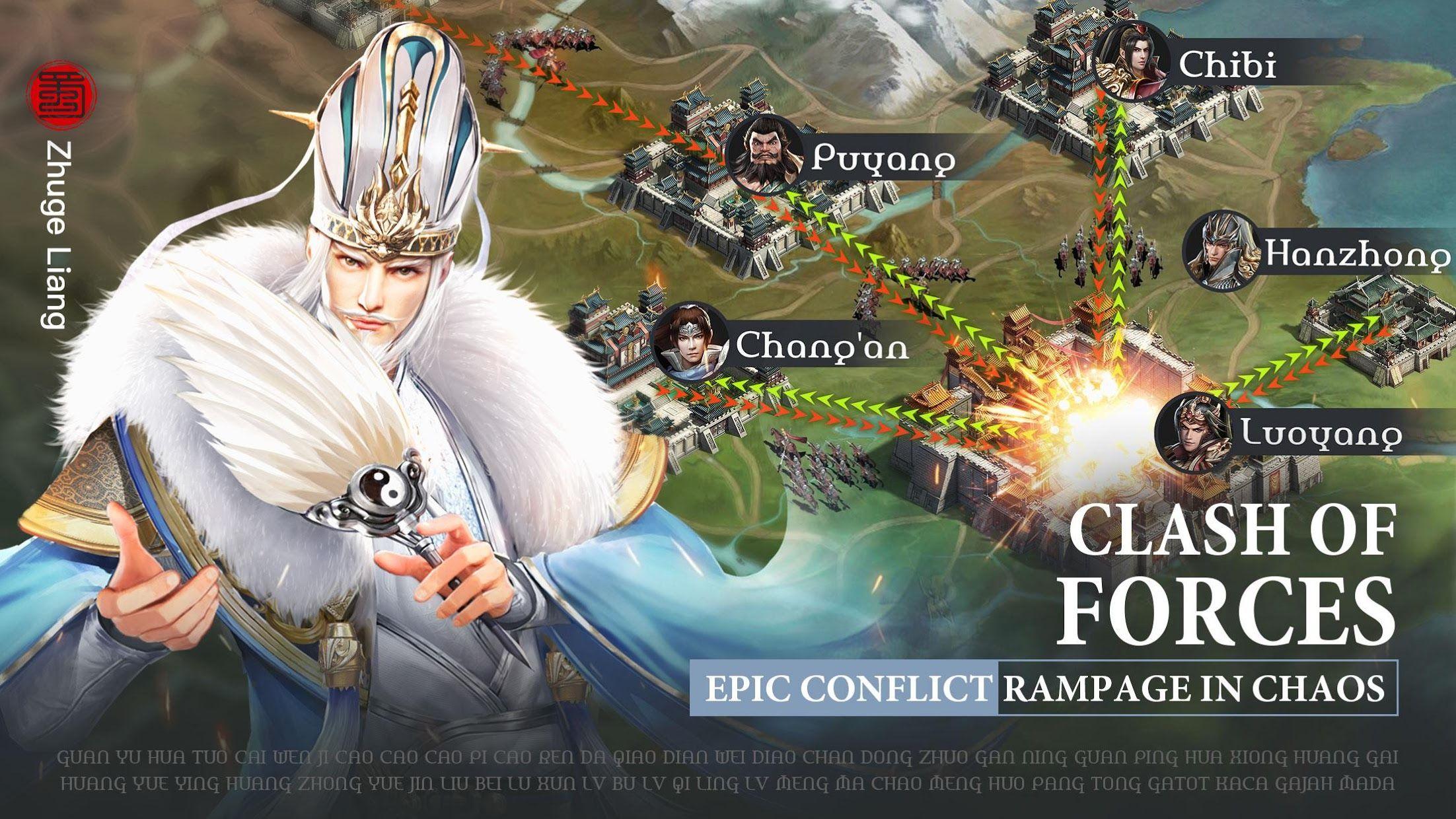 Three Kingdoms: Raja Chaos 游戏截图5