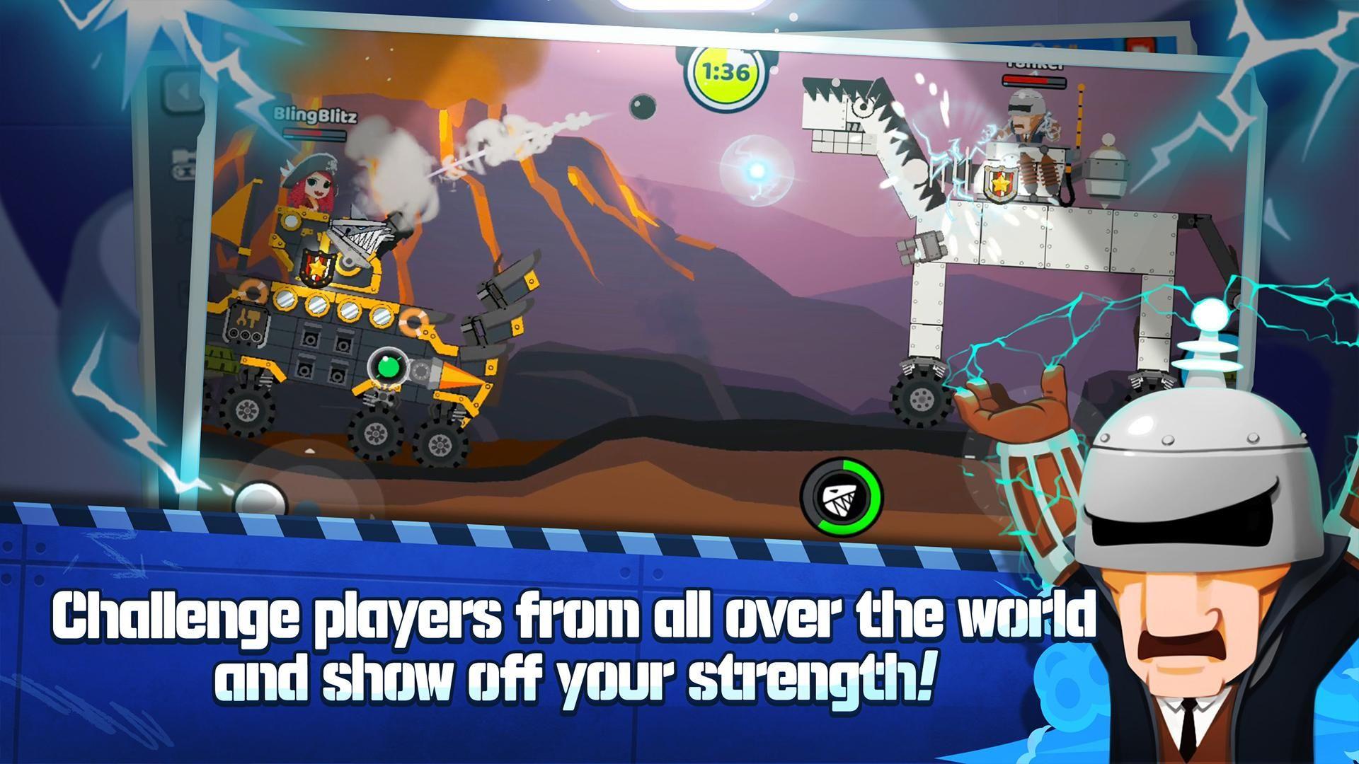 超级战车闪电战 游戏截图2