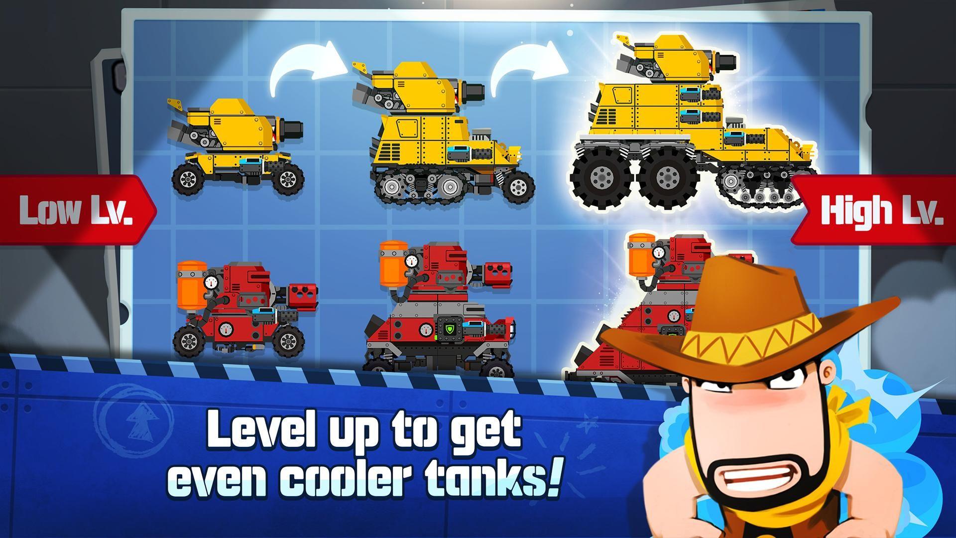 超级战车闪电战 游戏截图4