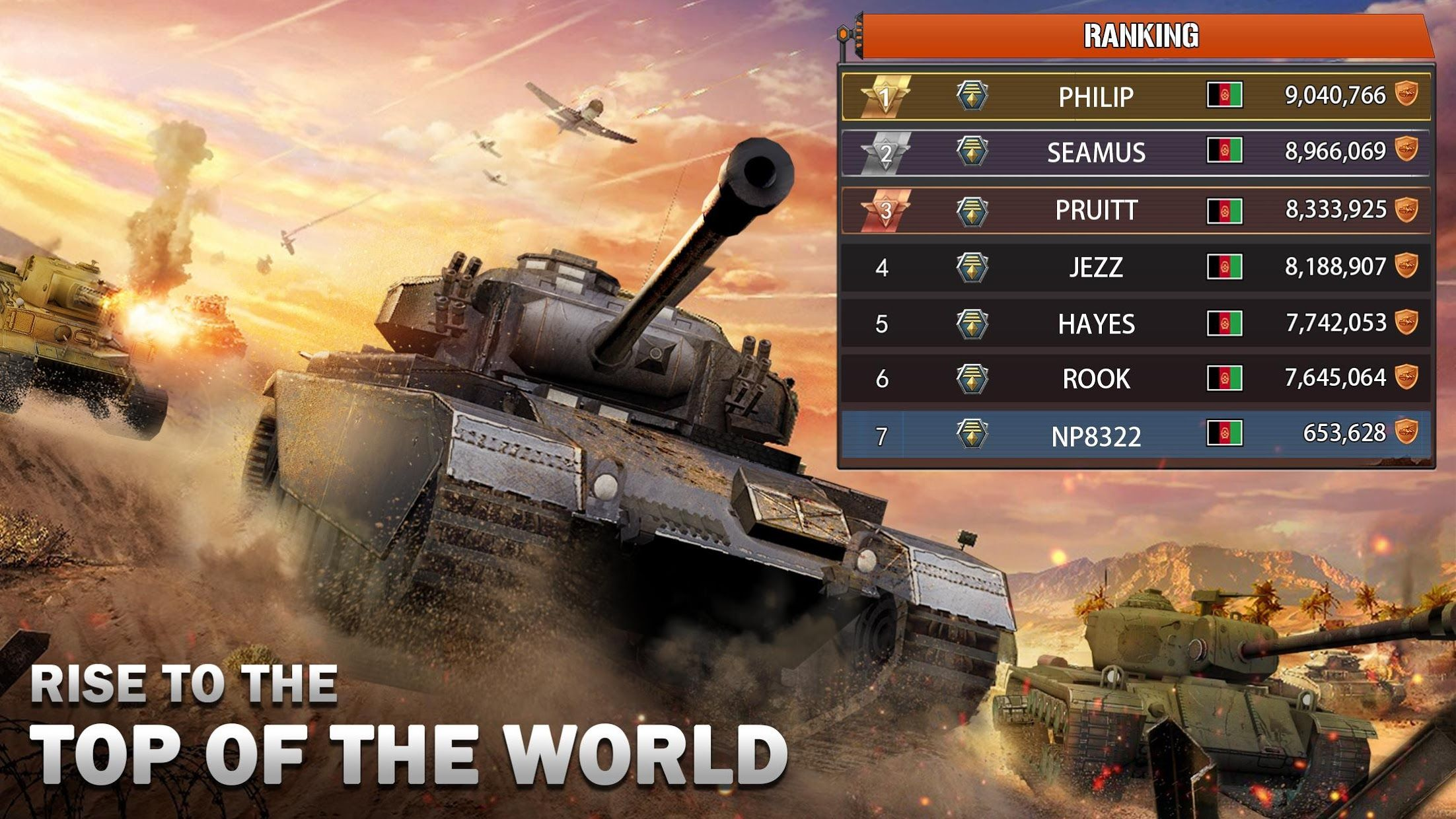 狂怒坦克:世界之巅,生存大战 游戏截图2