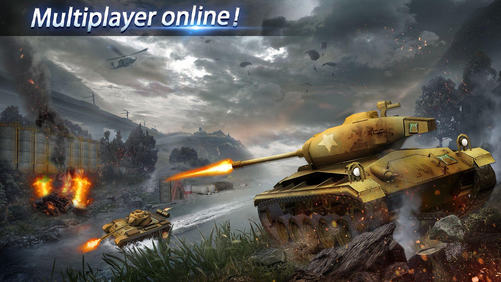 狂怒坦克:世界之巅,生存大战 游戏截图5