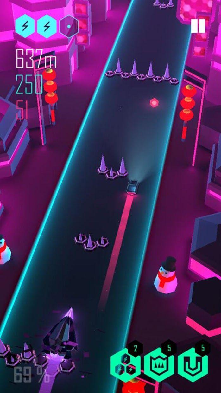电音超跑 游戏截图3