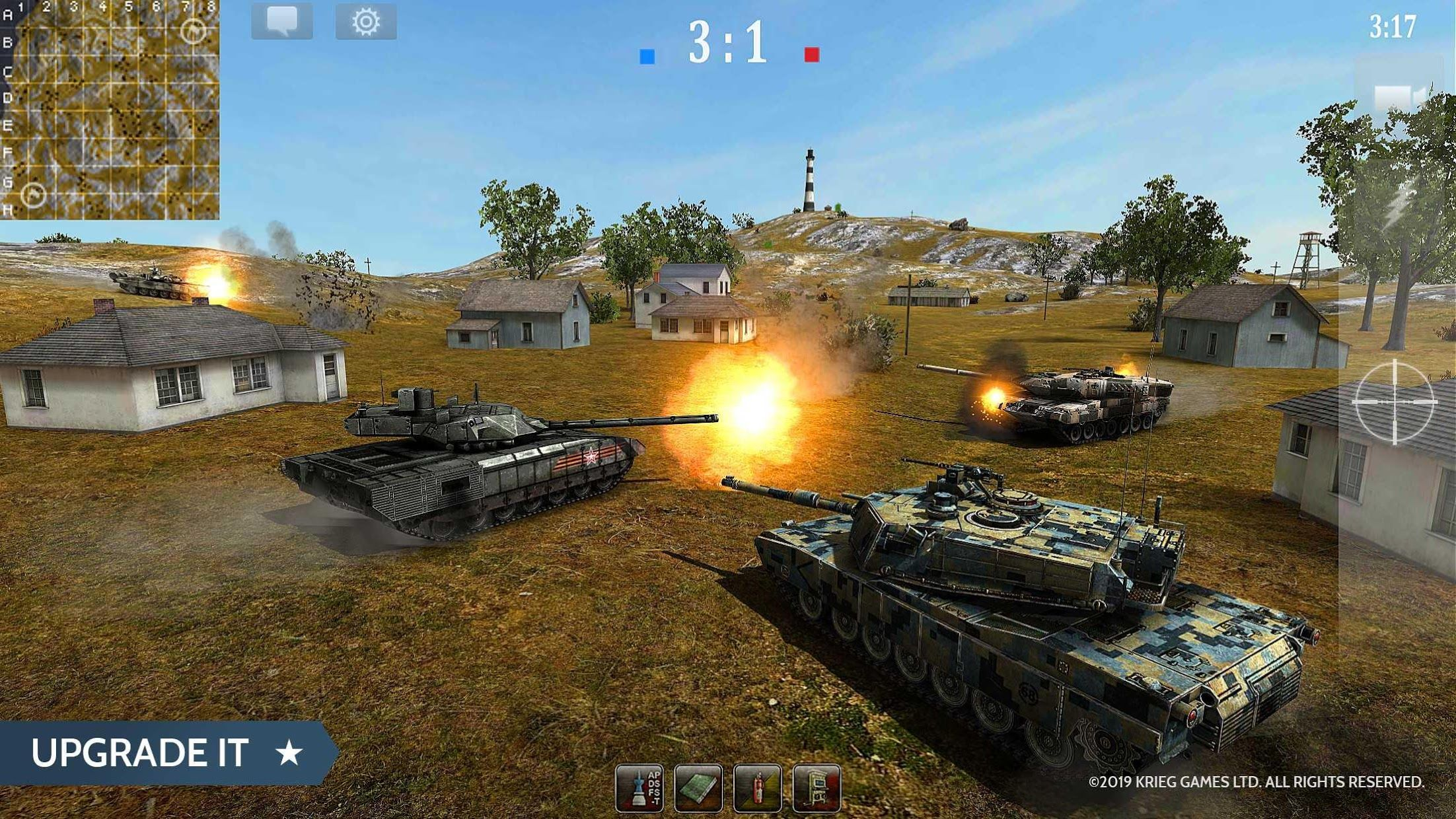 Armored Aces - Tanks in the World War 游戏截图2