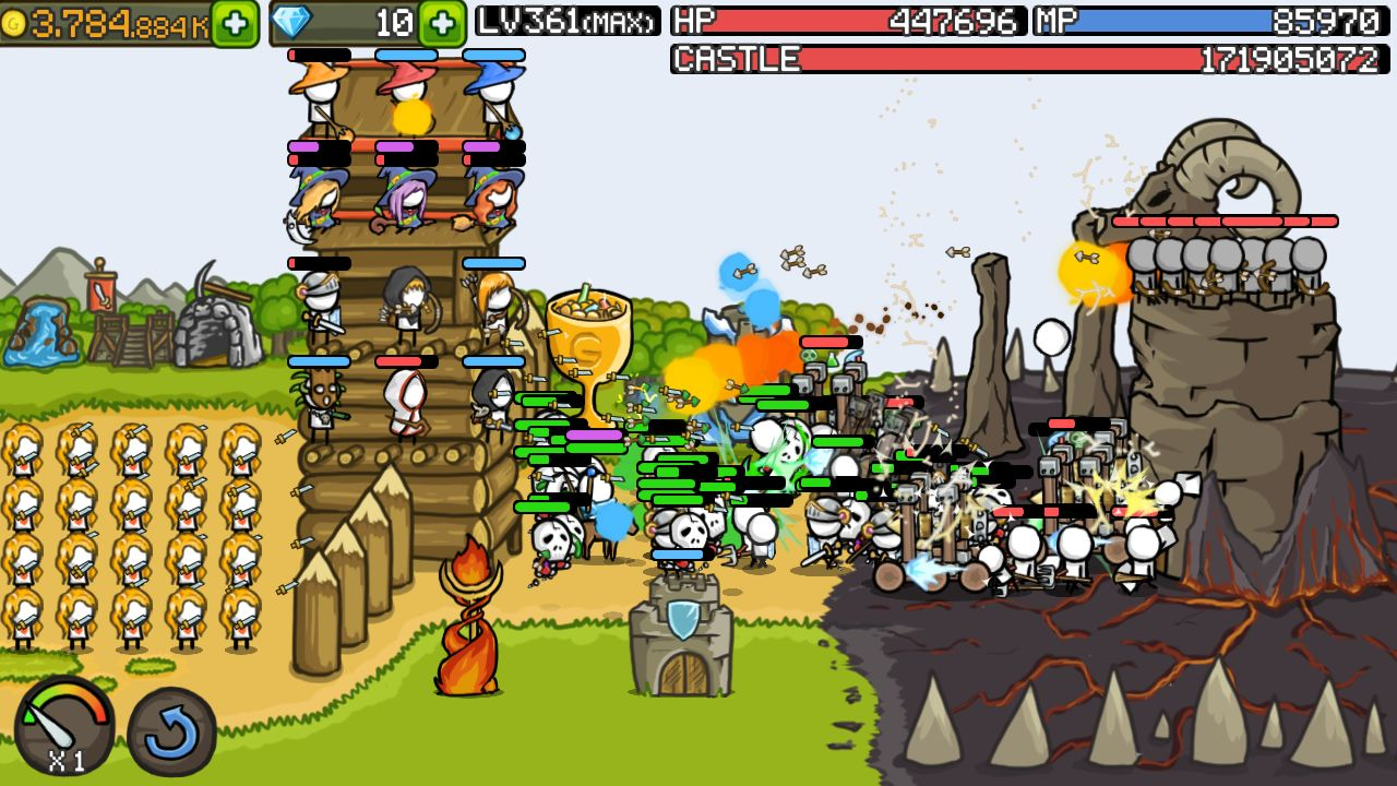 成长城堡 游戏截图1