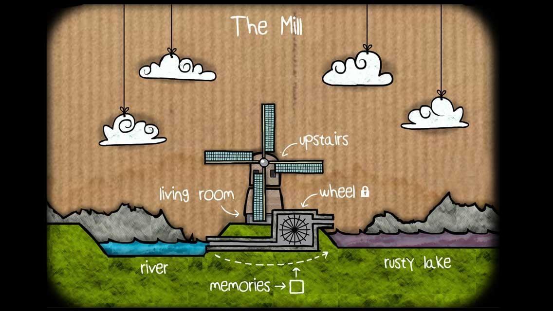 逃离方块: 磨坊 游戏截图2