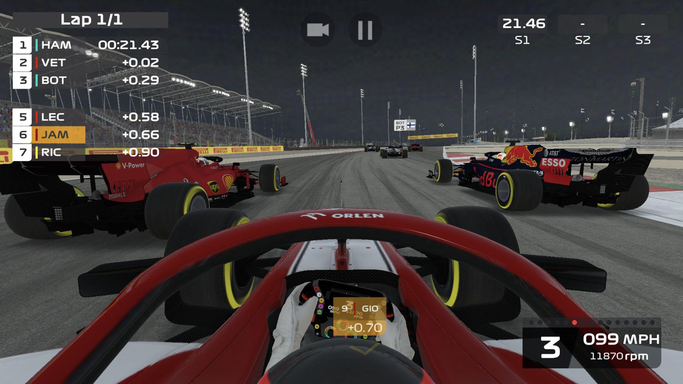 F1 移动赛车 游戏截图3