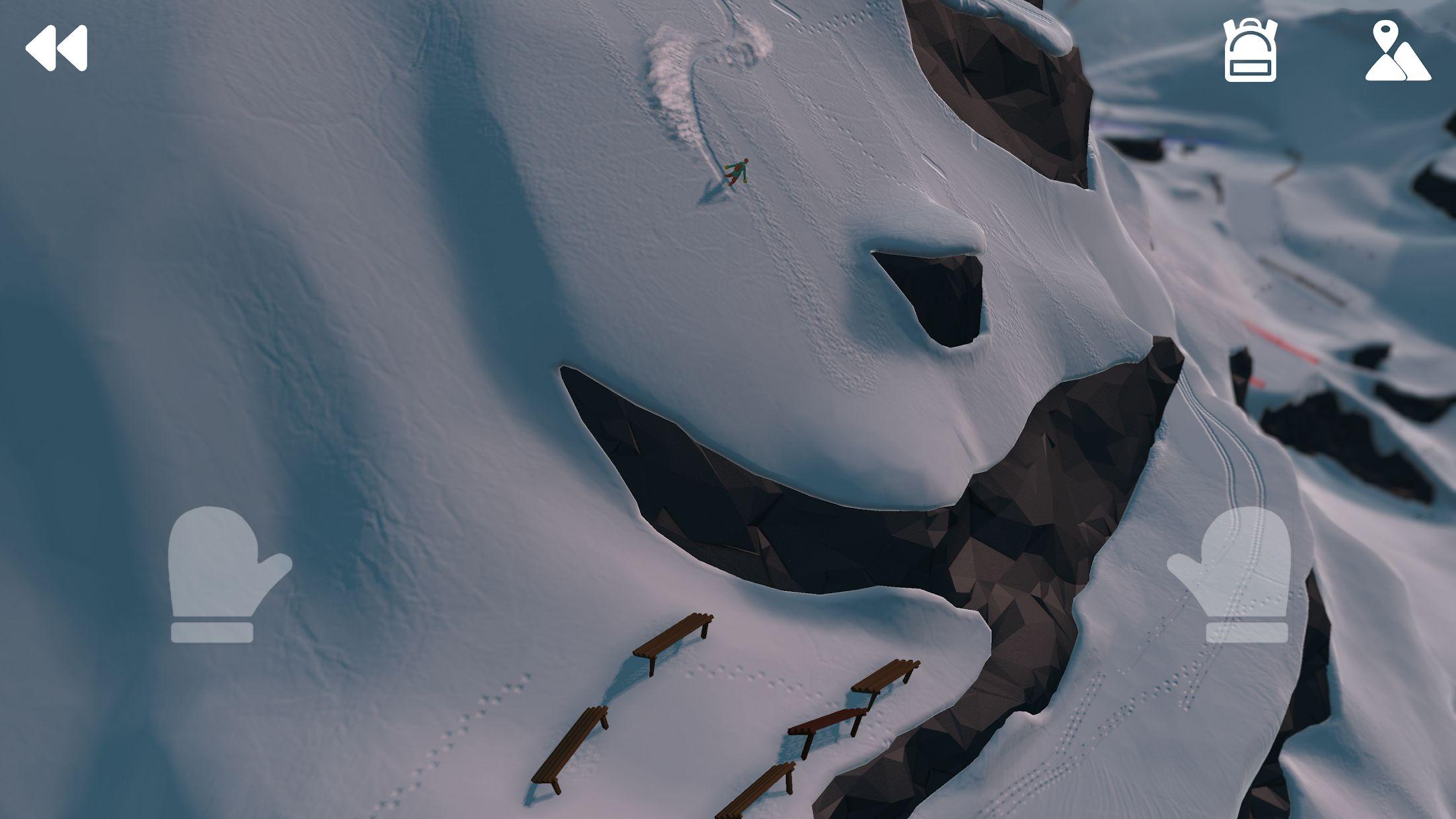 高山冒险滑雪 游戏截图1