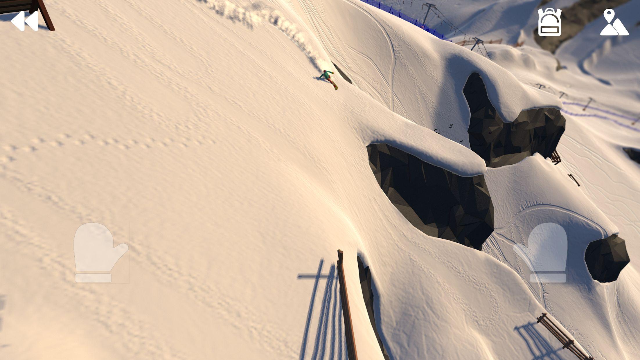 高山冒险滑雪 游戏截图4