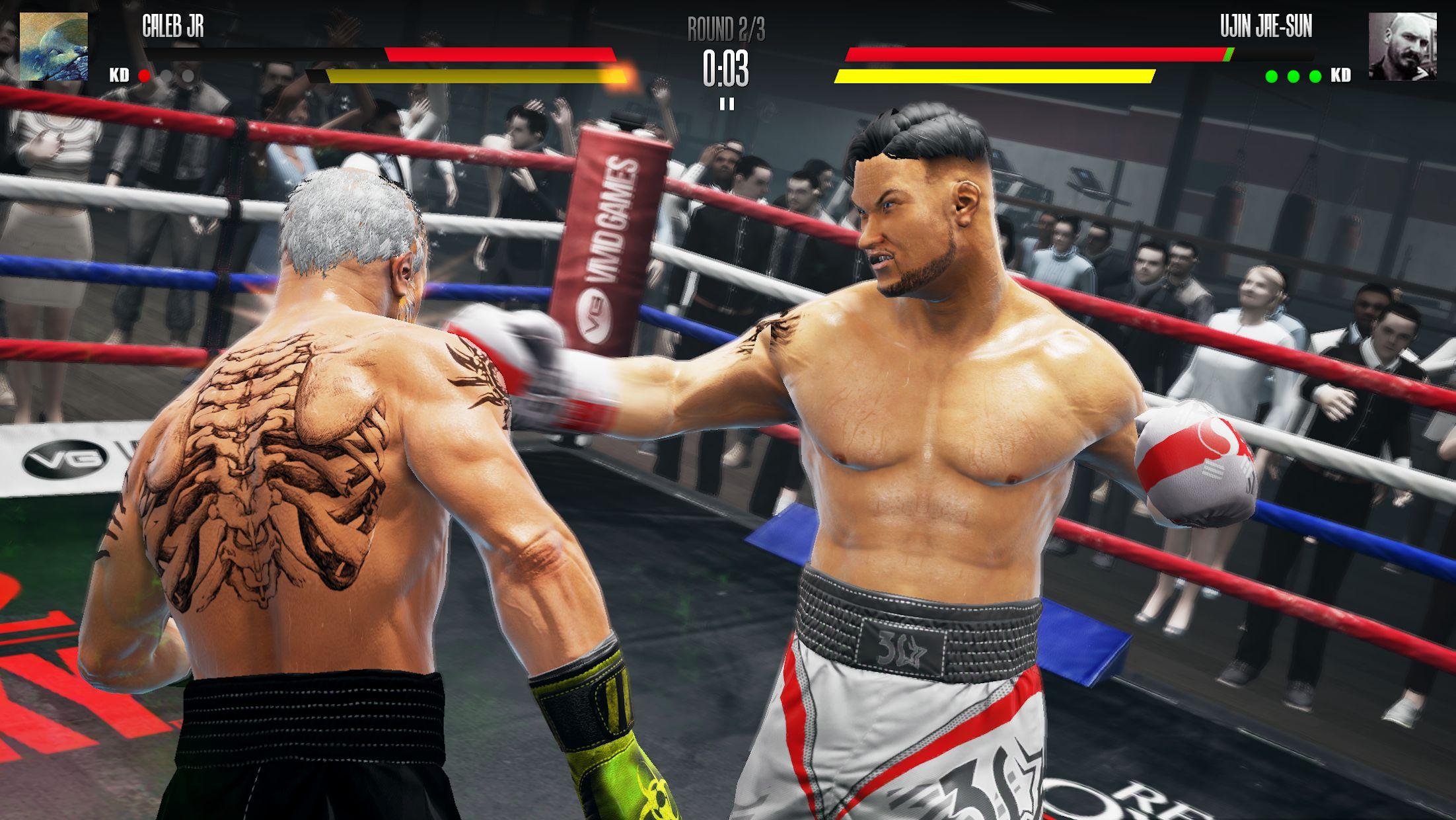 真实拳击2:洛奇 游戏截图4
