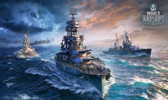 战舰激斗:媲美《战舰世界》,可以离线嗨的高画质海战手游 图片1