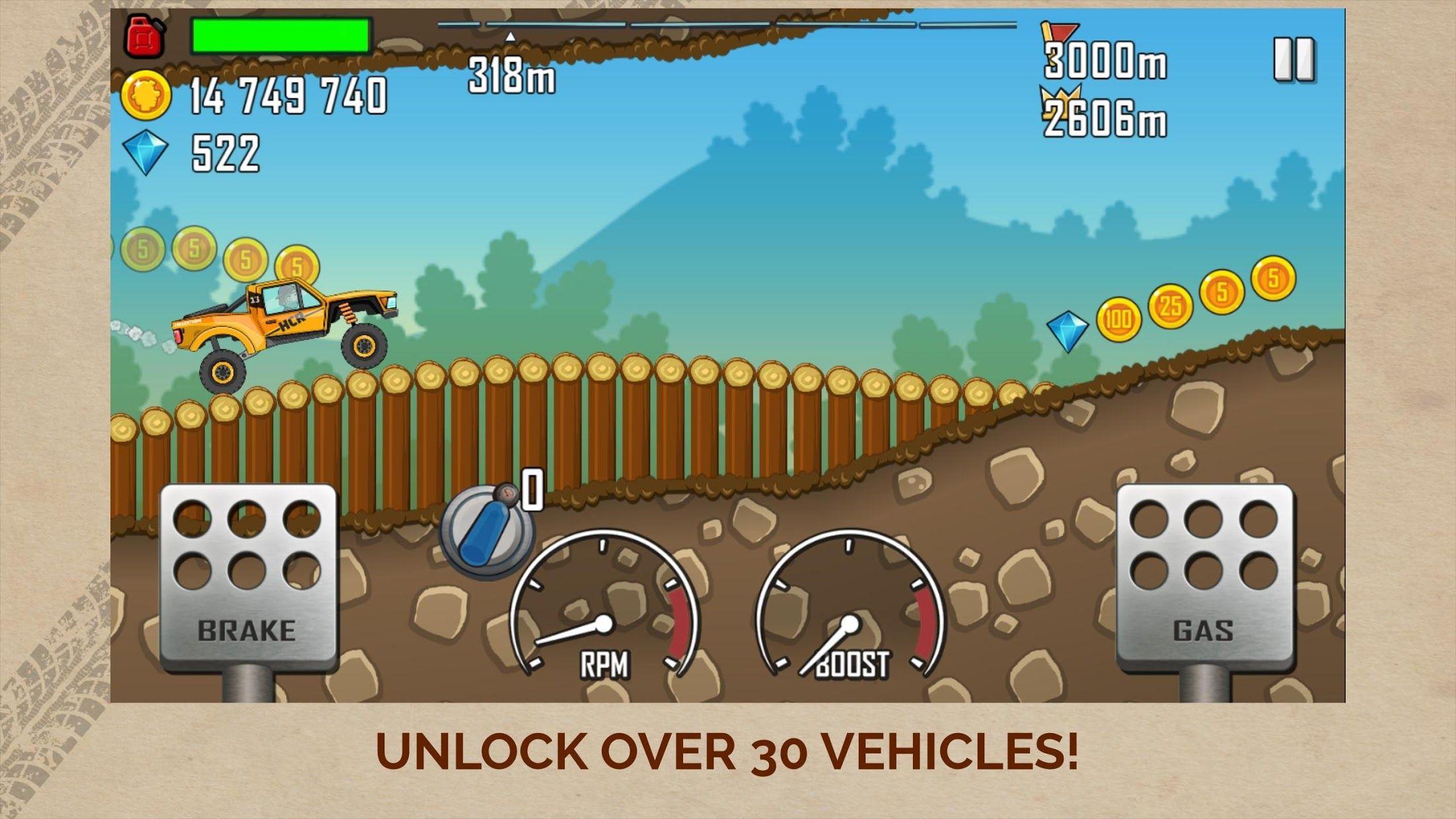 登山赛车 - Hill Climb Racing 游戏截图2