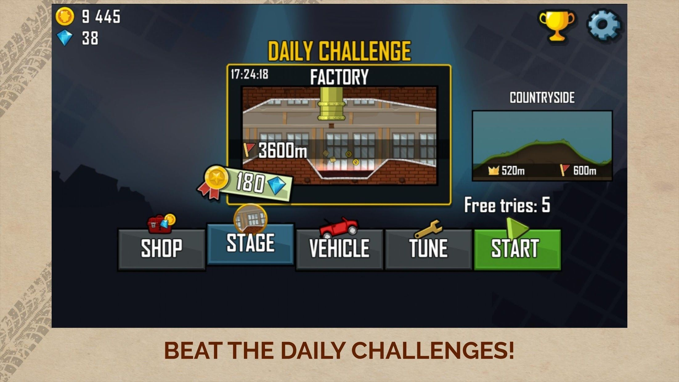 登山赛车 - Hill Climb Racing 游戏截图5