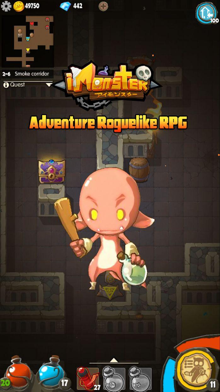 撸撸塔- 无尽地牢冒险闯关游戏 Roguelike RPG 游戏截图2