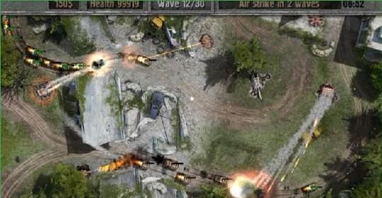 战地防御3地狱火模式