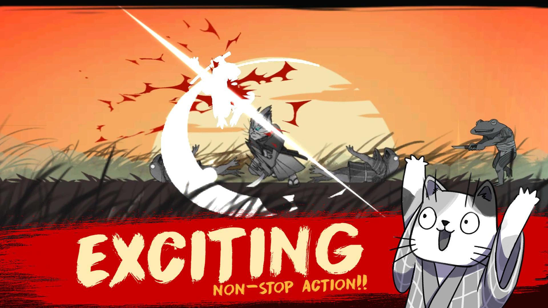 Neko Samurai 游戏截图1