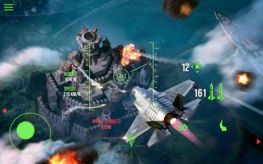 现代战机:仅存的良心战机游戏之一,操作简单粗暴,战斗震撼人心 图片7
