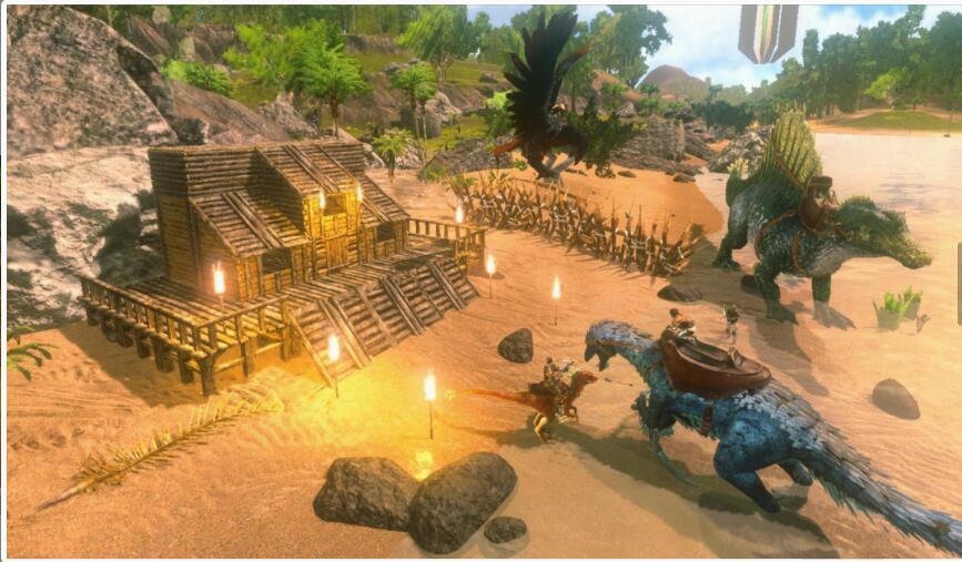 哪里能玩《方舟:生存进化》