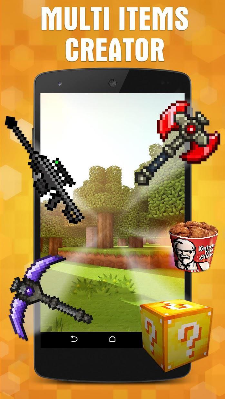 AddOns Maker for Minecraft PE 游戏截图1