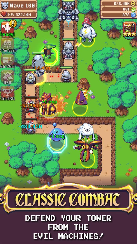 Epic Monster TD - RPG Tower Defense 游戏截图4