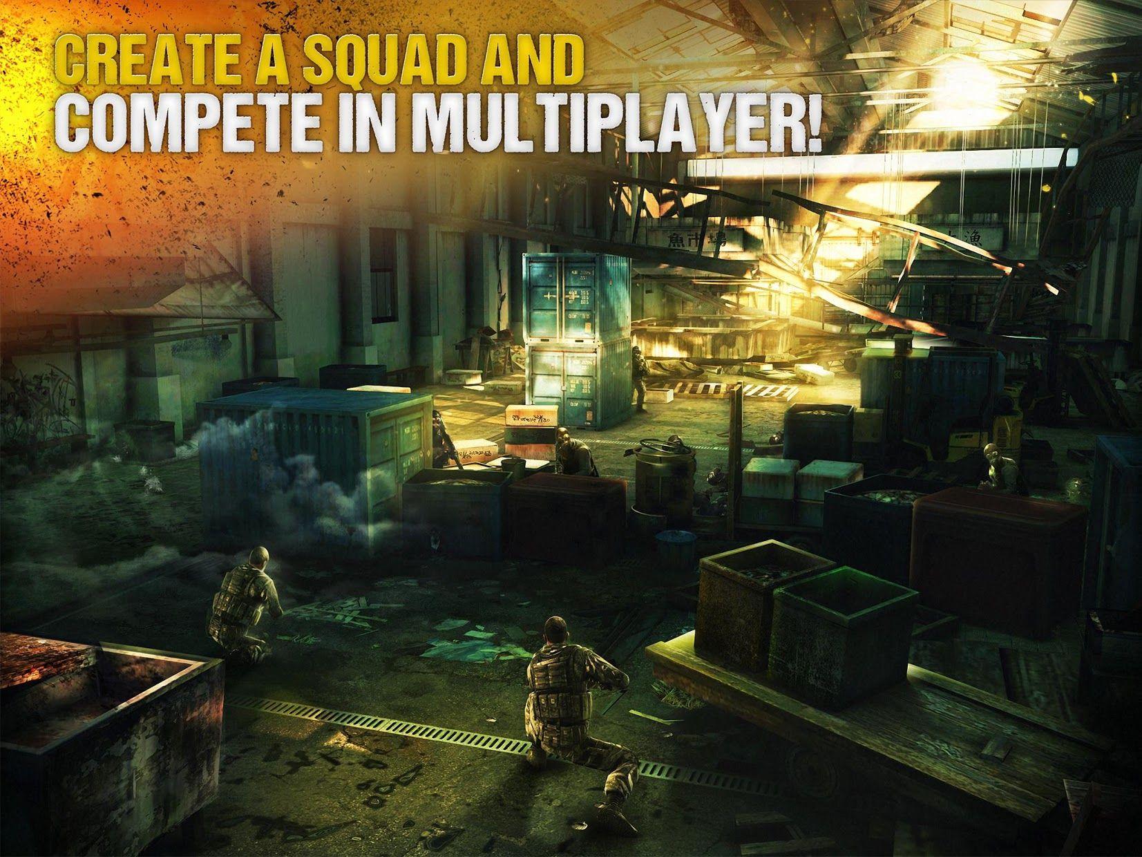 现代战争5:多人电竞射击游戏 游戏截图3