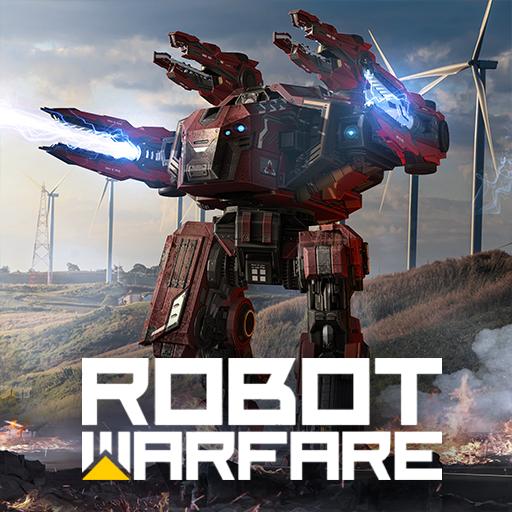机器人战争:机甲战斗 3D PvP FPS