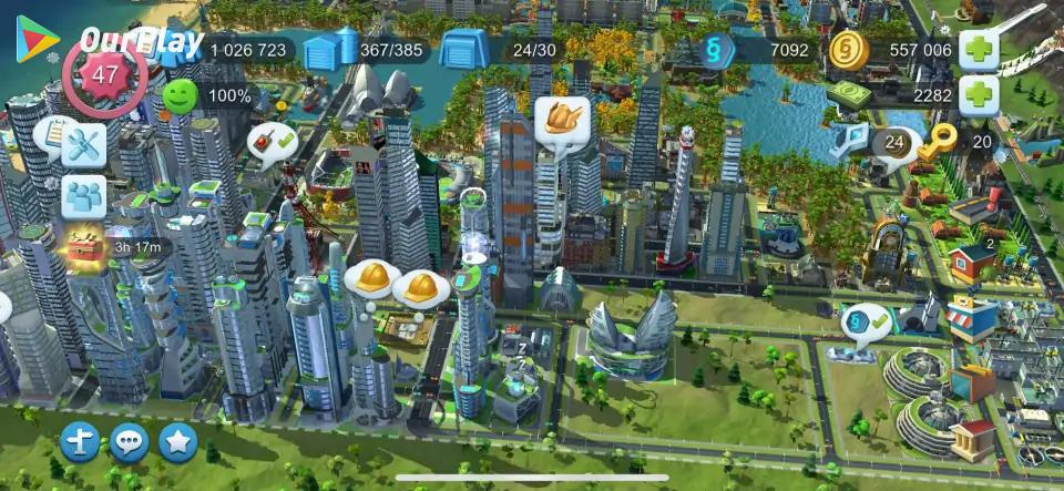 模拟城市4城市尺寸-模拟城市4操作、快捷键