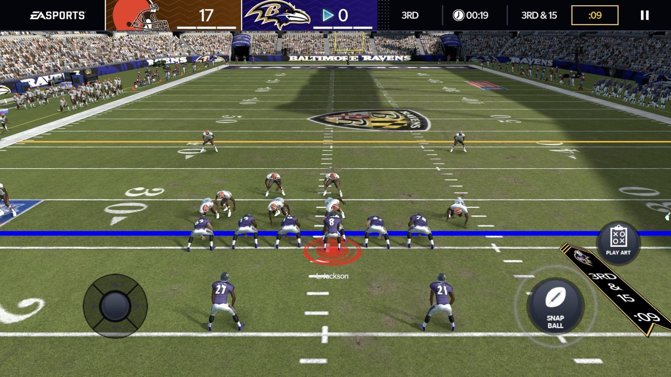 《Madden NFL 21 Mobile》橄榄球 游戏截图5