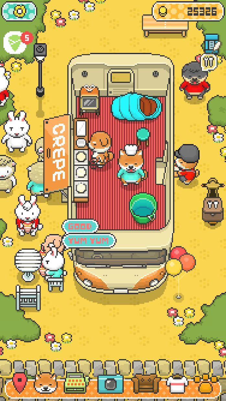 小狗绉纱店 : 烹饪厨师 Food Truck Pup 游戏截图1