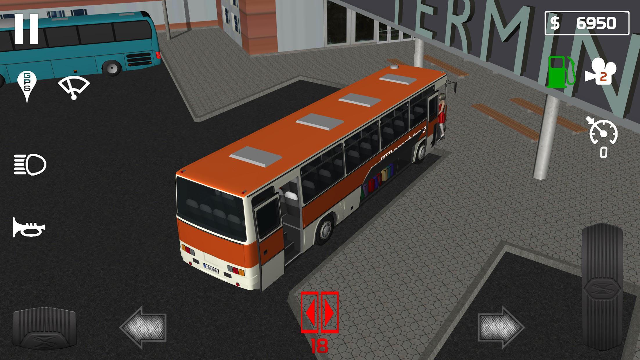 公交车模拟器客车 游戏截图4