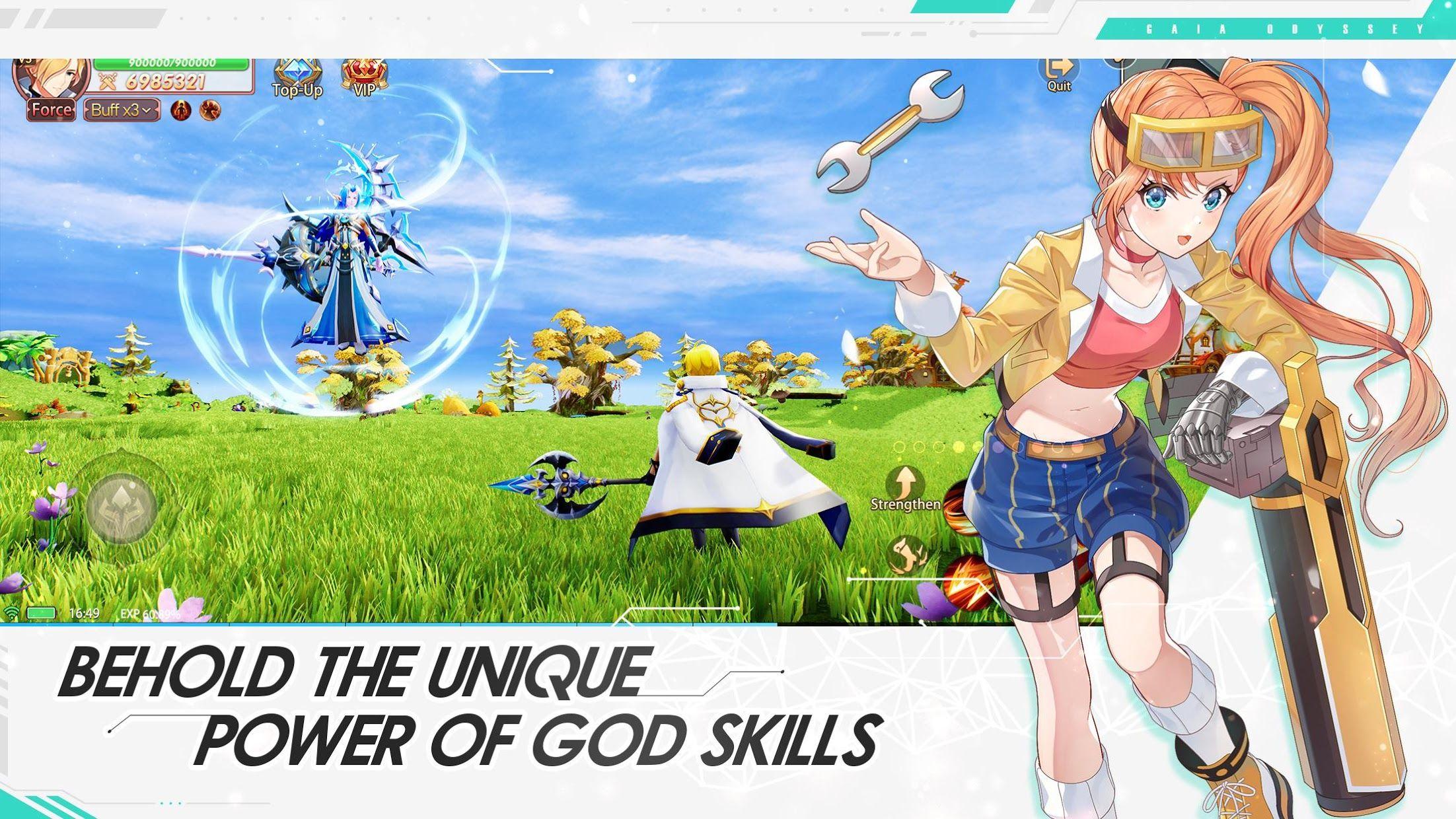 Gaia Odyssey 游戏截图4