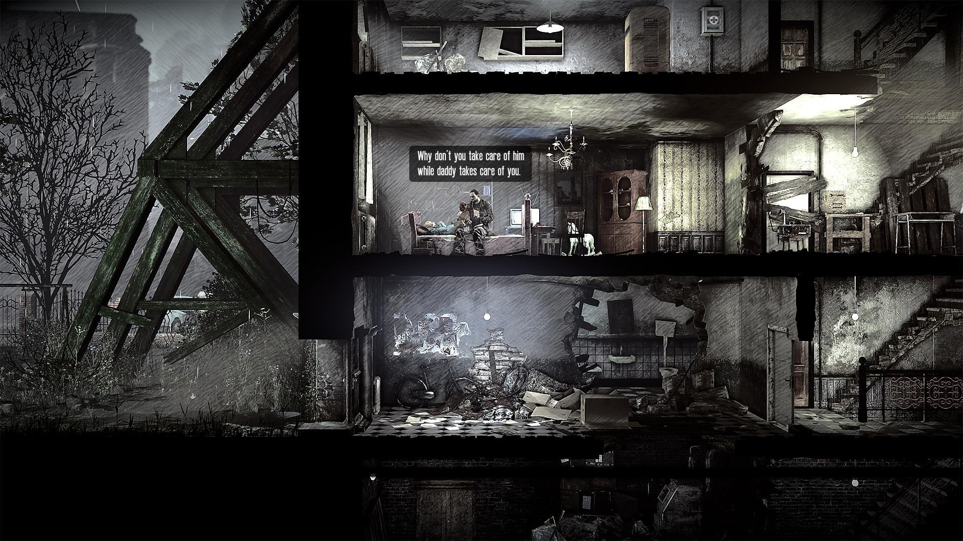 这是我的战争:故事 - 父亲的承诺(This War of Mine)  游戏截图1