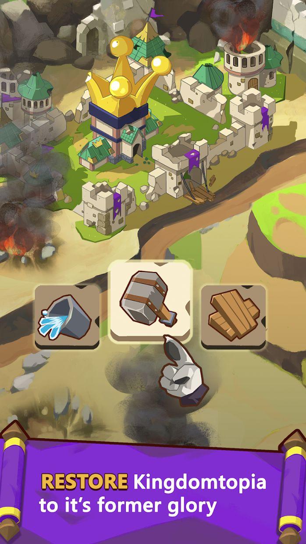 Kingdomtopia: The Idle King 游戏截图1